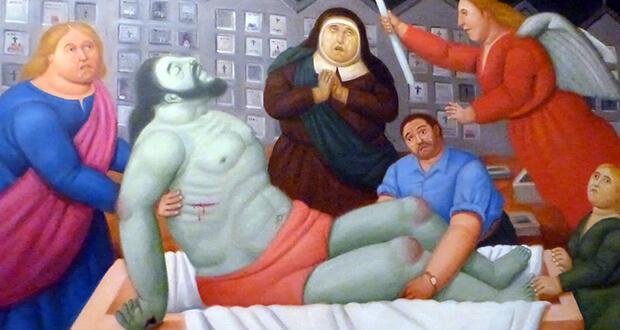 la ''Via Crucis'' di Botero 8