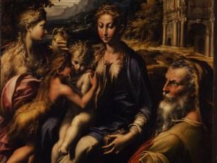 Francesco Mazzola, il Parmigianino, Madonna di San Zaccaria, 1530-1533 circa, Olio su tavola, 74 x 60 cm, Firenze, Galleria degli Uffizi