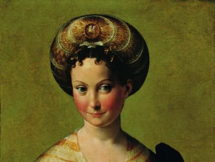 Francesco Mazzola, il Parmigianino, Ritratto di giovane donna detta Schiava turca, 1532, Parma, Galleria Nazionale