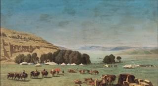 Pasini - Accampamento in Persia