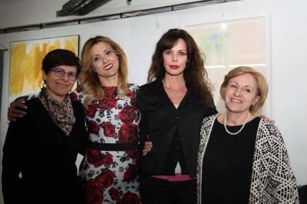 Tiziana Ragni, Iolanda Pomposelli, Tiziana Sensi e Beatrice Curci