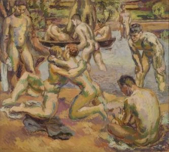 Duncan Grant, The Bathers, 1926