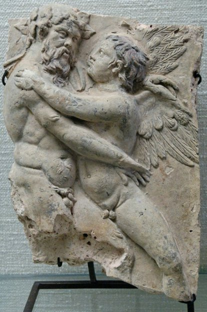Silenus and Eros, 1st century A.D.