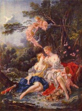 Zeus e Callisto François Boucher, 1744