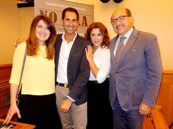 Giuseppe Di Tommaso con Emanuela Grimalda, Manuela Moreno e Cosimo Latronico