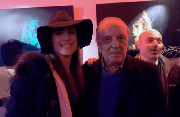 Francesca Valtorta e Dario Argento