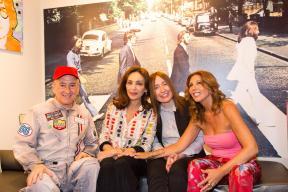 Dario Salvatori, Maria Rosaria Omaggio, Silvia Chialli e Tina Vannini