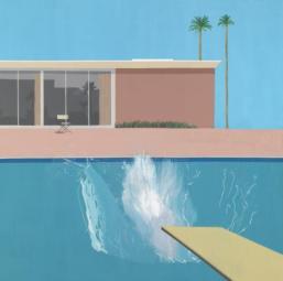 David Hockney – A bigger splash, 1967