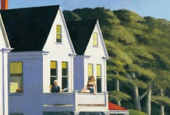 Edward Hopper – Second Story Sunlight, 1960