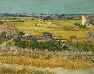 Vincent van Gogh, La mietitura (1888)