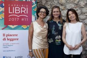 Da sx Marina Valensise, Giovanna Pancheri, Mariolina Sattanino