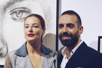 Simona Borioni e Roberto Di Costanzo