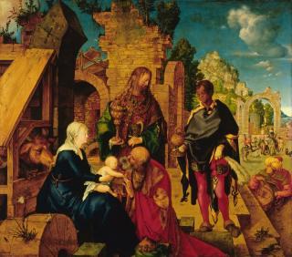 Adoration of the Magi by Albrecht Dürer (1504)