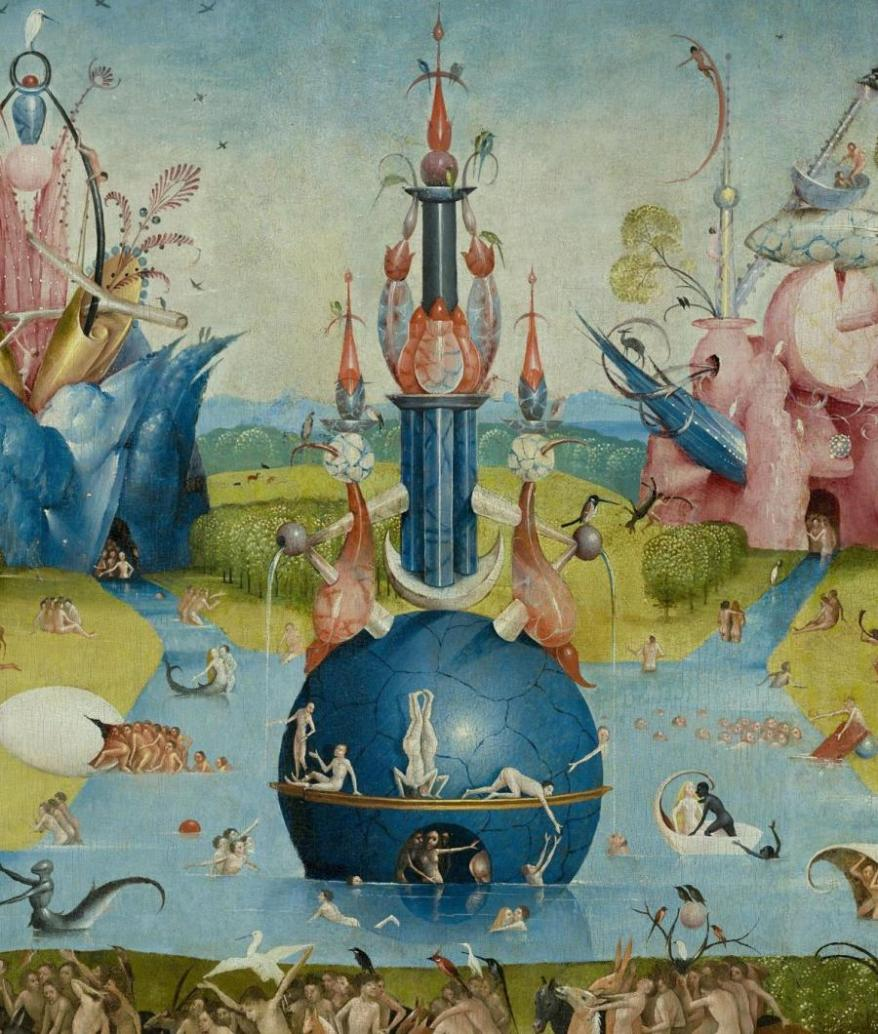 """Hieronymus Bosch_s """"The Garden of Earthly Delights"""". Eros e sesso nell'arte"""