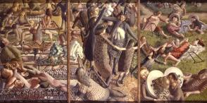 Stanley Spencer The Resurrection - Reunion 1945. eros e sesso nell'arte