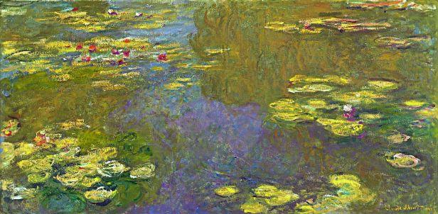 Claude Monet - Water Lilies, 1919