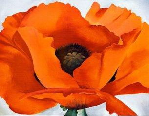 Georgia O'Keeffe - Red Poppy, 1927