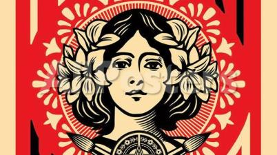 Make Art Not War - Shepard Fairey (Obey)