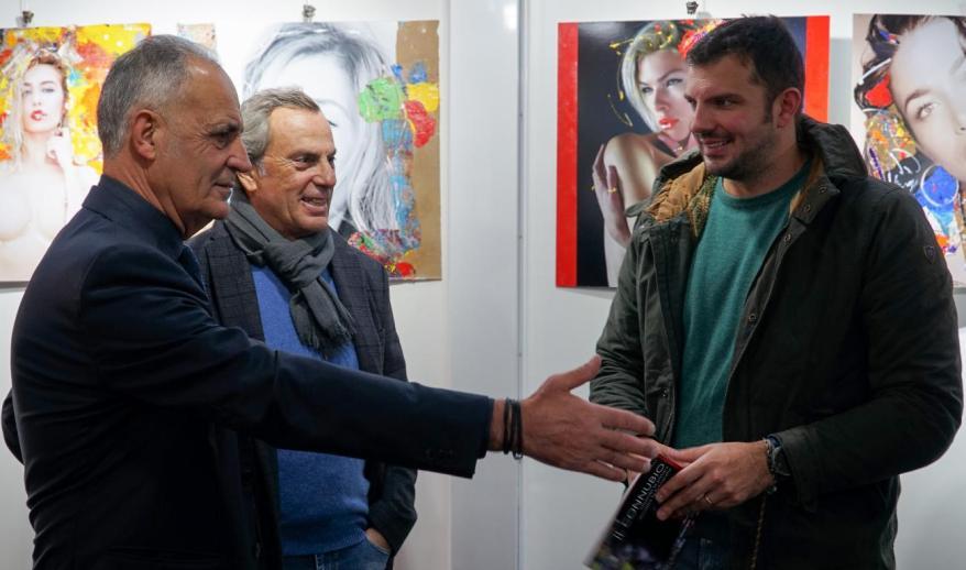 Natino Chirico, Giorgio Guglielmini e Alessandro Terrin