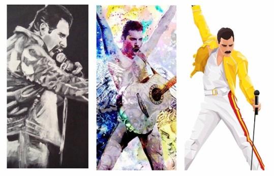 Freddie Mercury Queen Arte