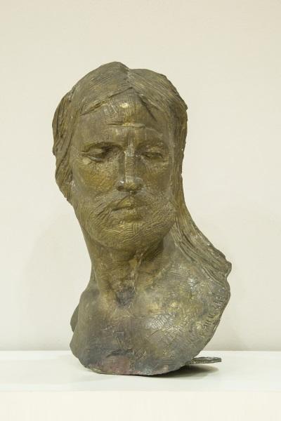 Emilio Greco, TESTA DI CRISTO 1968 bronzo Associazione Paolo VI, Arte Contemporanea Concesio