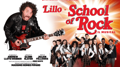 School of Rock al Teatro Sistina