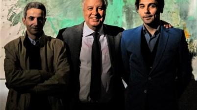 Cheikh Zidor, Hassan Abouyoub, Gio Montez - Fotografia di Alessandro Consoli © Atelier Montez, 2019