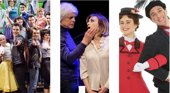Grease, Placido, mary Poppins, Sweeney Todd e gli altri