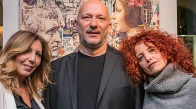 Tina Vannini, Marco Innocenti (aka Brivido Pop) e Rossella Seno