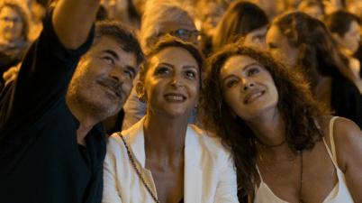 Paolo Genovese, Paola Minaccioni ed Elena Sofia Ricci