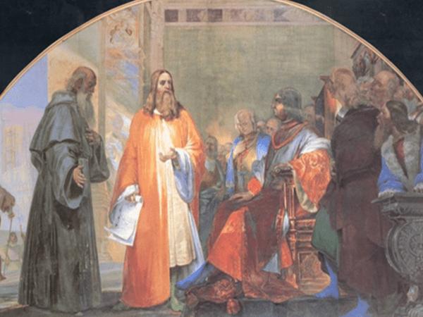 Grande Oriente d'Italia, l'omaggio a Leonardo da Vinci
