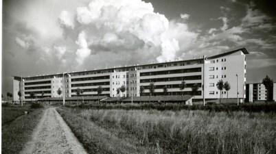 © Gio Ponti Archives _ Gio Ponti, Casa al Quartiere Harar Dessié, Milano 1950-55
