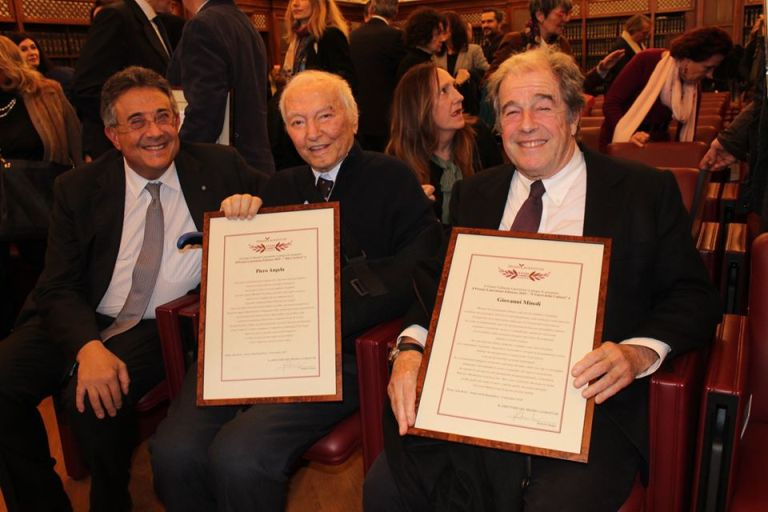 Roberto Sergio, Piero Angela e Giovanni Minoli