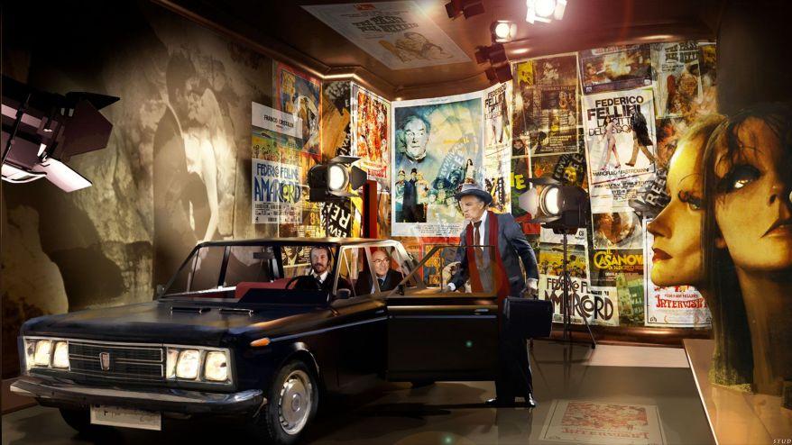 Felliniana – Ferretti sogna Fellini