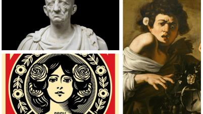 I Marmi Torlonia, l'arte contemporanea a Villa Borghese, Shepard Fairey e Caravaggio a Roma