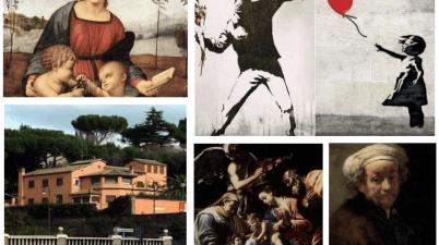 Da Rembrandt a Orazio Borgianni, da Banksy a Raffaello, senza tralasciare le mostre su Federico Fellini e Alberto Sordi
