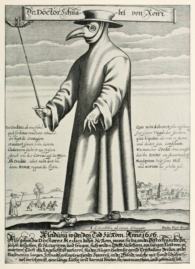 Paulus Furst of Nuremberg, Doctor Schnabel von Rom, 1656