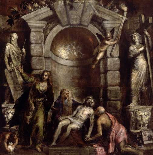 Tiziano, Pietà, 1576