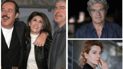 Mario Martone, Monica Guerritore, Anna Marchesini, Tullio Solenghi e Massimo Lopez