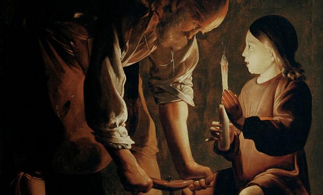 G. de La Tour, S. Giuseppe Carpentiere, 1642