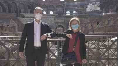 Il Direttore Russo e il Direttore Tanese per il Parco Archeologico del Colosseo