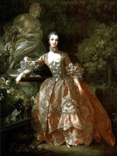 F. Boucher Ritratto di Madame de Pompadour