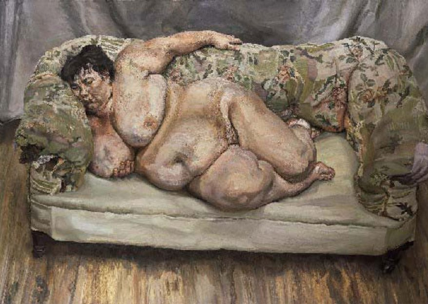 Lucian Freud, Benefits Supervisor Sleeping