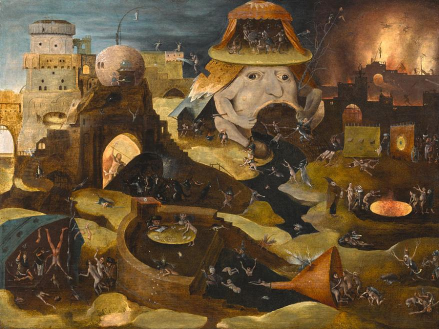 The Harrowing of Hell by Follower of Hieronymus Bosch