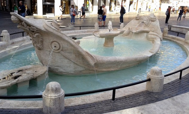 Barcaccia di Roma, Bernini