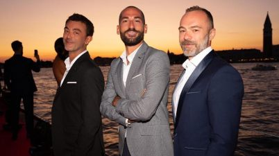 Da sx Pierluigi Manzo, Antonino Scalzo e Alessio Piccirillo