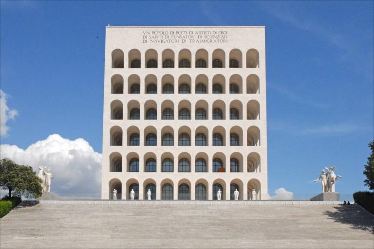 Colosseo Quadrato, Eur, Roma