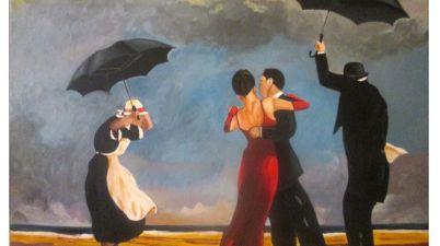 Jack Vettriano, novecento, pittura