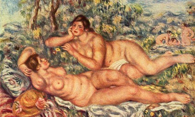 Pierre-Auguste Renoir e Le bagnanti