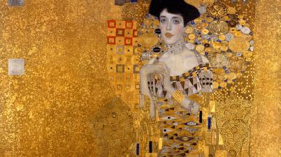ritratto di Adele Bloch-Bauer di Gustav Klimt